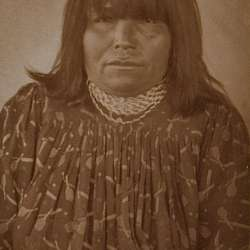 An Apache-Mojave woman (1907)