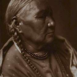 Cheyenne female Profile (1910)