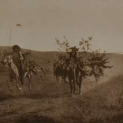 Return with boughs (Cheyenne)  (1911)