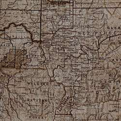 Map of the Nez Perce territory ()