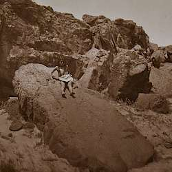 The rock slide (Wishham)  (1909)