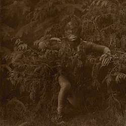 Pagusilahl emerging from the woods (Qagvuhl) (1914)