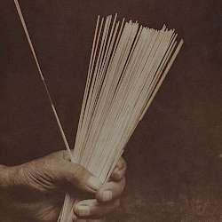 Sticks used in Huna guessing game  (1923)