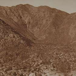 Site of a prehistoric village (Cahuilla)  (1924)