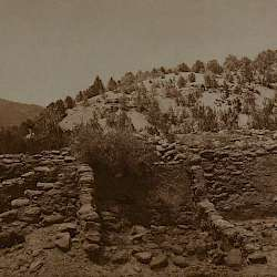 Excavated ruins at Gyusiwa  (1925)