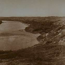 Bow River and the sandhills (Blackfoot)  (1926)